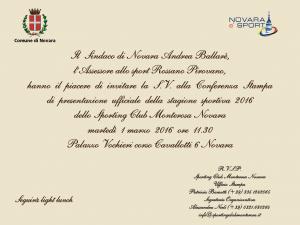 Invito Conferenza stampa 1.3.16